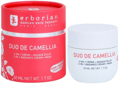 Erborian Cammelia posvetlitvena krema in maska 2v1 1