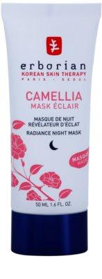 Erborian Cammelia éjszakai maszk az élénk bőrért