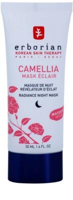 Erborian Cammelia máscara de noite para pele radiante