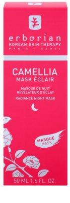 Erborian Cammelia Maske für die Nacht zur Verjüngung der Gesichtshaut 2