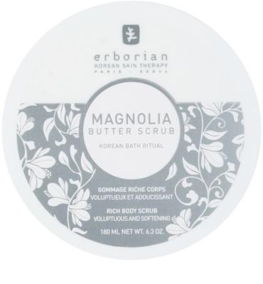 Erborian Magnolia Körperpeeling mit nahrhaften Effekt 1