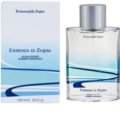 Ermenegildo Zegna Essenza Di Zegna Acqua D'Estate Summer Fragrance 2008 eau de toilette férfiaknak