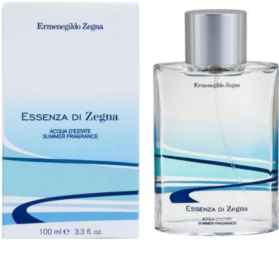 Ermenegildo Zegna Essenza Di Zegna Acqua D'Estate Summer Fragrance 2008 Eau de Toilette für Herren
