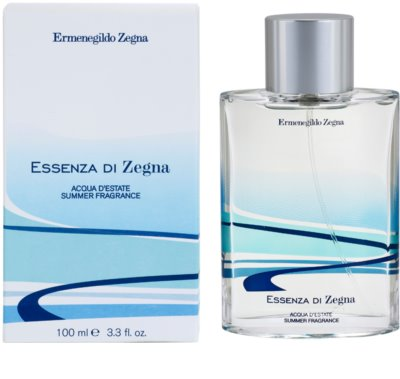 Ermenegildo Zegna Essenza Di Zegna Acqua D'Estate Summer Fragrance 2008 туалетна вода для чоловіків