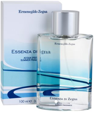 Ermenegildo Zegna Essenza Di Zegna Acqua D'Estate Summer Fragrance 2008 туалетна вода для чоловіків 1