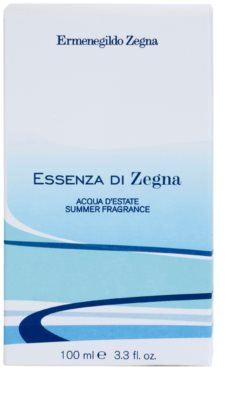 Ermenegildo Zegna Essenza Di Zegna Acqua D'Estate Summer Fragrance 2008 туалетна вода для чоловіків 4