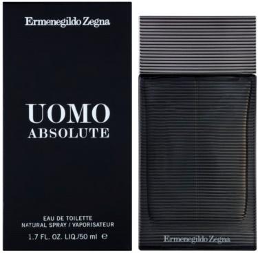 Ermenegildo Zegna Uomo Absolute eau de toilette férfiaknak