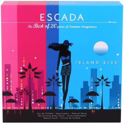 Escada Island Kiss 2011 coffret presente 3