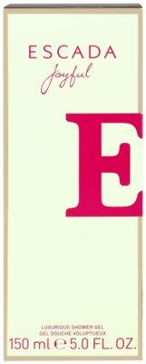 Escada Joyful sprchový gel pro ženy 1