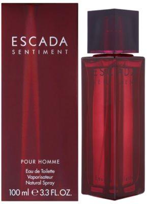 Escada Sentiment pour Homme woda toaletowa dla mężczyzn