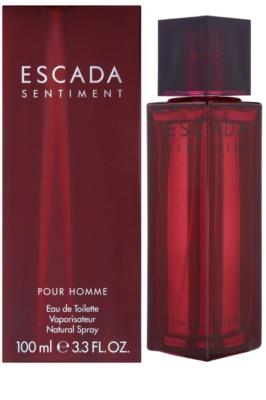 Escada Sentiment pour Homme тоалетна вода за мъже