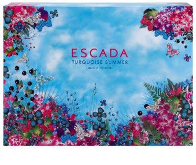 Escada Turquoise Summer Limited Edition coffret presente 3