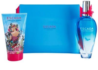 Escada Turquoise Summer Limited Edition coffret presente 1
