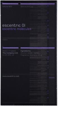 Escentric Molecules Escentric 01 Eau de Toilette unisex  refill cu vaporizator 3