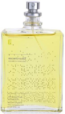 Escentric Molecules Escentric 03 Eau de Toilette unissexo 2
