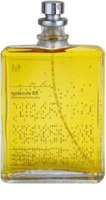 Escentric Molecules Molecule 03 eau de toilette unisex 2