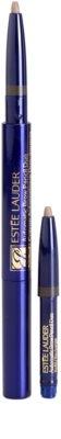 Estée Lauder Automatic tužka na obočí se štětečkem a náplní 2