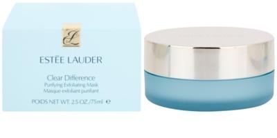 Estée Lauder Clear Difference Peelingmaske gegen die Unvollkommenheiten der Haut 2