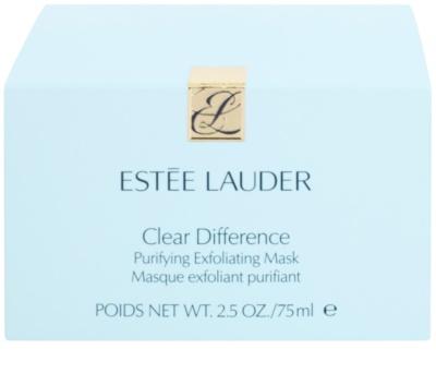 Estée Lauder Clear Difference Peelingmaske gegen die Unvollkommenheiten der Haut 3