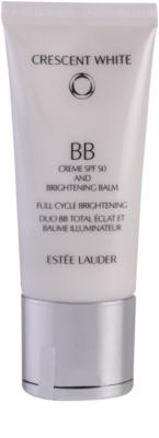 Estée Lauder Crescent White rozjaśniający krem BB przeciw przebarwieniom SPF 50