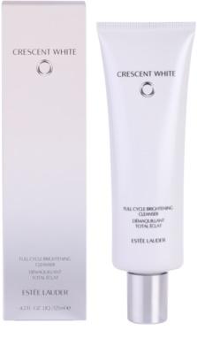 Estée Lauder Crescent White Espuma de limpeza com brilho anti-manchas de pigmentação 1