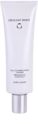Estée Lauder Crescent White Espuma de limpeza com brilho anti-manchas de pigmentação