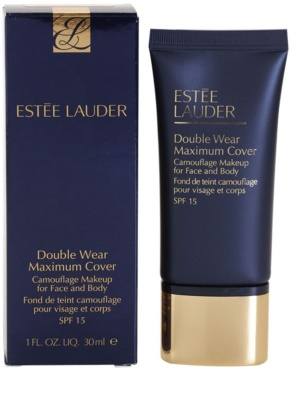 Estée Lauder Double Wear Maximum Cover krycí make-up na obličej a tělo 2