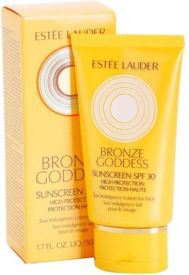 Estée Lauder Bronze Goddess mleko za sončenje za obraz SPF 30 1
