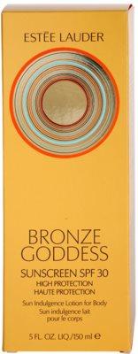 Estée Lauder Bronze Goddess loțiune pentru plaja  SPF 30 3