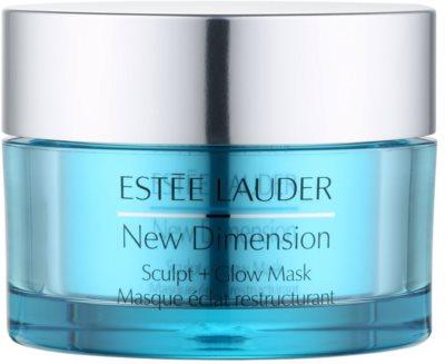 Estée Lauder New Dimension зміцнююча маска для освітлення та зволоження