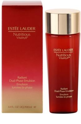 Estée Lauder Nutritious Vitality 8™ aufhellende Zwei-Phasem-Emulsion 1