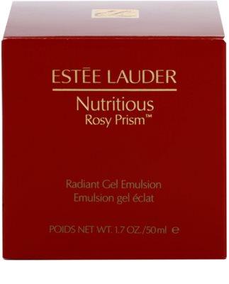 Estée Lauder Nutritious Rosy Prism™ озаряващ гел-емулсия 3