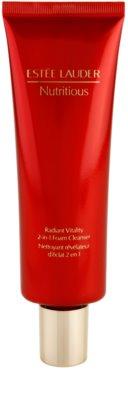 Estée Lauder Nutritious espuma de limpeza 2 em 1 para todos os tipos de pele