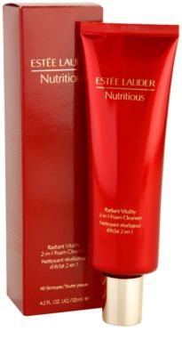 Estée Lauder Nutritious espuma de limpeza 2 em 1 para todos os tipos de pele 1