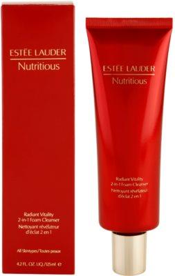 Estée Lauder Nutritious espuma de limpeza 2 em 1 para todos os tipos de pele 2