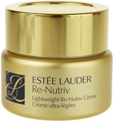 Estée Lauder Re-Nutriv Classic Re-Nutriv crema hidratante ligera  con efecto alisante