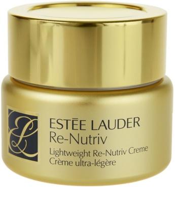 Estée Lauder Re-Nutriv Classic Re-Nutriv легкий зволожуючий крем з розгладжуючим ефектом