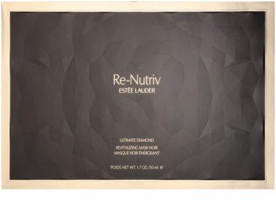 Estée Lauder Re-Nutriv Ultimate Diamond luxus revitalizáló fekete maszk szarvasgomba kivonattal 5
