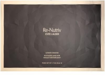 Estée Lauder Re-Nutriv Ultimate Diamond luxuriöse revitalisierende schwarze Maske mit Trüffel-Extrakt 5