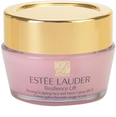 Estée Lauder Resilience Lift creme com efeito lifting  para rosto e pescoço