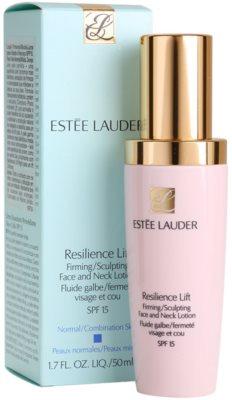 Estée Lauder Resilience Lift fluid pentru zi pentru piele normala si mixta 2