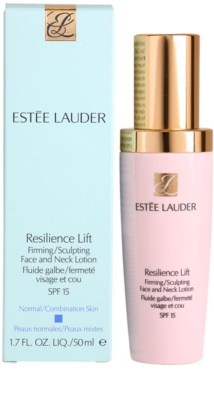 Estée Lauder Resilience Lift fluid pentru zi pentru piele normala si mixta 3