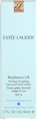 Estée Lauder Resilience Lift fluid pentru zi pentru piele normala si mixta 4
