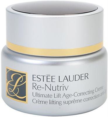 Estée Lauder Re-Nutriv Ultimate Lift fiatalító krém lifting hatással