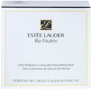 Estée Lauder Re-Nutriv Ultra Radiance aufhellender Korrektor + glättende Basis 2in1 4