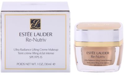 Estée Lauder Re-Nutriv Ultra Radiance das cremige Lifting Make-up SPF 15 3