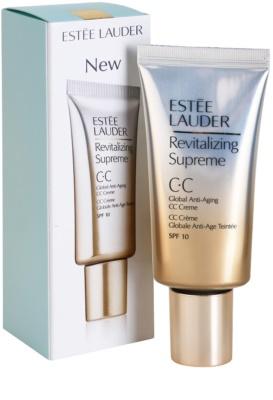 Estée Lauder Revitalizing Supreme CC krém s omlazujícím účinkem SPF 10 1