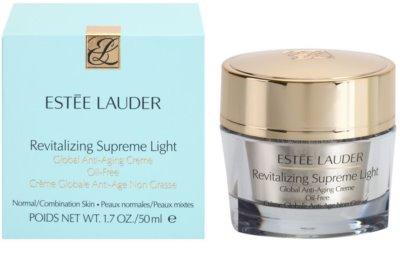Estée Lauder Revitalizing Supreme lekki, nietłusty krem przeciw starzeniu się skóry 2