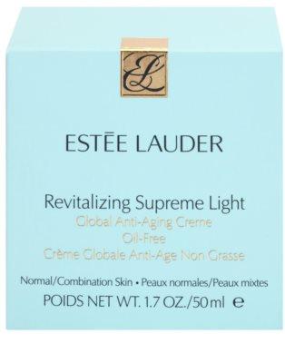 Estée Lauder Revitalizing Supreme lekki, nietłusty krem przeciw starzeniu się skóry 3