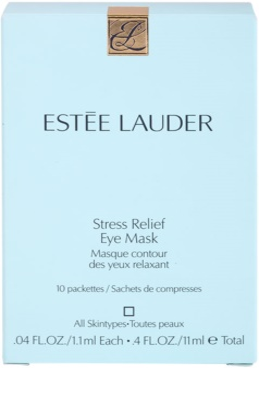 Estée Lauder Stress Relief maska na oči pro všechny typy pleti 2